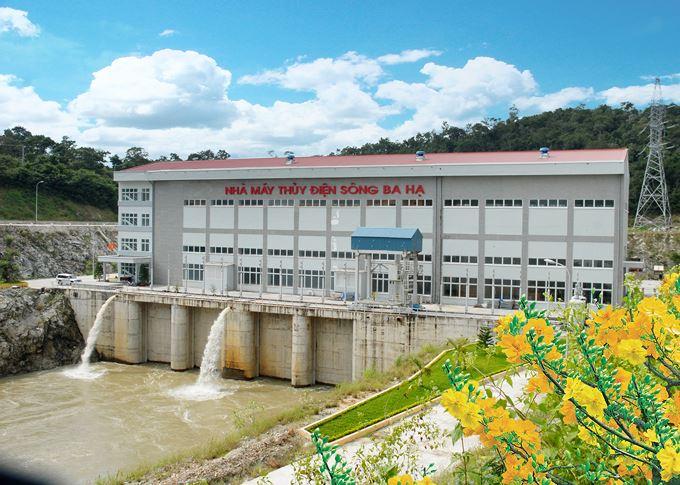 Thủy điện Sông Ba Hạ đảm bảo cấp nước cho sinh hoạt và sản xuất mùa