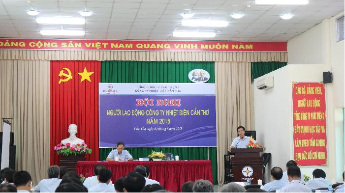 Hội nghị Người lao động Công ty Nhiệt điện Cần Thơ năm 2018